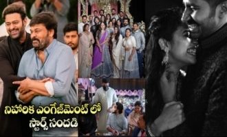 Niharika Konidela Chaitanya Engagement Unseen Video