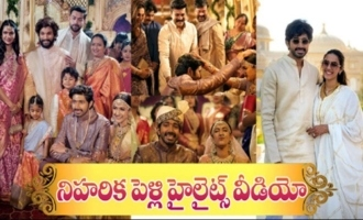 Niharika And Chaitanya's Wedding Highlights