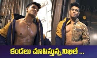 Hero Nikhil Siddharth Ad Photoshoot Making Video