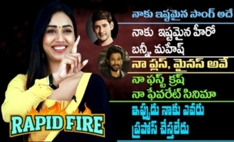 Rapid Fire With Nivetha Pethuraj