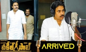 Pawan Kalyan Dubbing for VakeelSaab Movie
