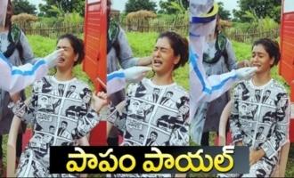 Payal Rajput Crying While Doing Covid Test | RX 100 Payal Rajput Latest Video | IG Telugu