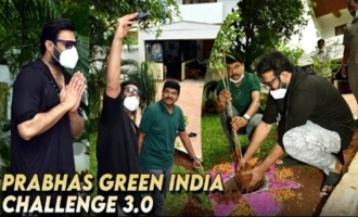 Prabhas Green India Challenge 3.0 Video | Prabhas Green India Challenge