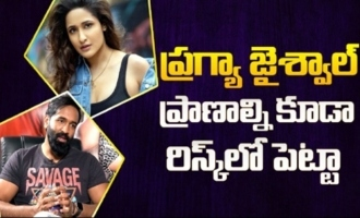 Manchu Vishnu remembers action sequences incident with actress Pragya Jaiswal