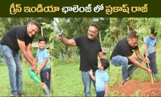 Prakash Raj accepted Green India Challenge from Tanikella Bharani