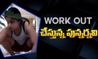 Punarnavi Bhupalam Workout Video