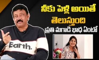 RGV About Shocking Incident With His Wife
