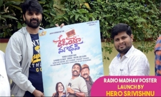 Radio Madhav Poster Launch by Actor Sri Vishnu