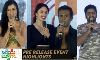 'Orey Bujjiga' Pre Release Event Highlights