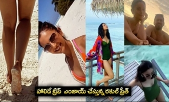 Rakul Preet Singh Fully Enjoyed Holiday Trip In Maldives
