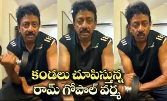 Ram Gopal Varma Strong Reply To Rumors On Him | RGV Gym Workout Video | IG Telugu
