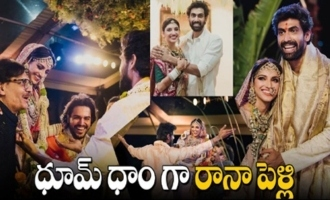 Rana Daggubati with Miheeka Wedding memorable moments | Rana Daggubati Marriage Video