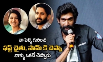 Rana Daggubati about His Love Story with Miheeka Bajaj