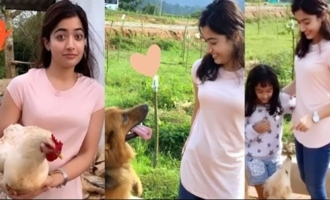 Actress Rashmika Mandanna Cutest Video