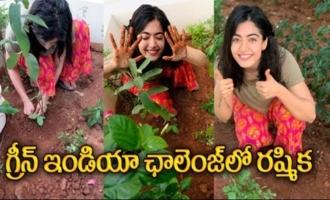 Actress Rashmika Accepts Samantha's Green India Challenge