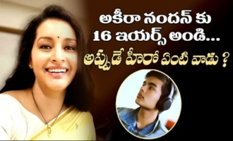 Akira is just 16.  It's too early for him to be an actor : Renu Desai