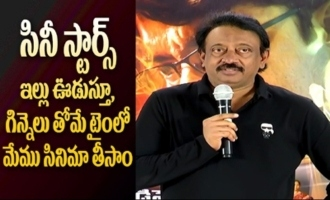 RGV Satirical Comments On TFI Stars