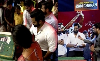 Sai Dharam Tej & Divi At Ram Charan Birthday Celebrations
