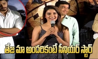 Samantha Making Hilarious Fun With Child Artist Teja