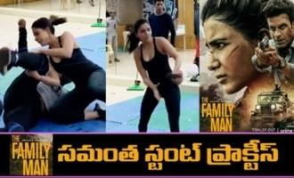 The Family Man 2 Samantha Stunt Practice Making Video
