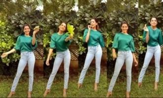 Actress Samantha Cute Video On Plantation | IG Telugu