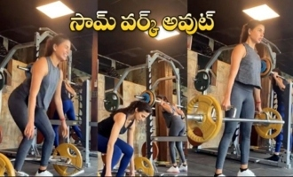Actress Samantha Latest Workout Video