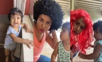 Actress Sameera Reddy Playing With Her Kids | IG Telugu