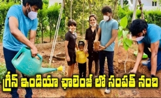 Director Sampath Nandi Accepts Green India Challenge