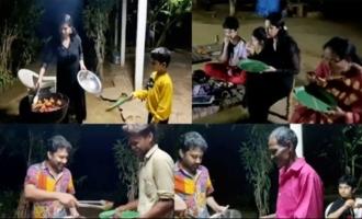 Actor Sivabalaji Wife Madhumitha Birthday Celebrations   IG Telugu