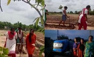 Actor Sonu Sood Sends Tractor To Chittoor Farmer