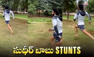 Actor Sudheer Babu Morning Running Workouts