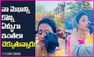 Suma Kanakala Making Fun On Her Makeup Team
