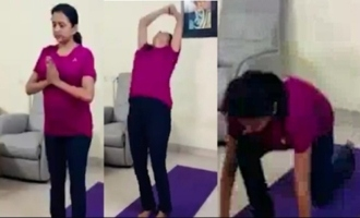 Anchor Suma Kanakala Yoga Video | IG Telugu