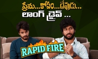 Rapid Fire With Teja Sajja And Prashanth Varma