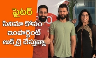 Vijay Devarakonda Talks about fighter movie body transformation