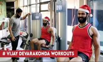 Vijay Devarakonda Heavy Workouts