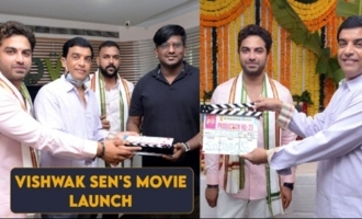 Vishwak Sen's New Movie Opening