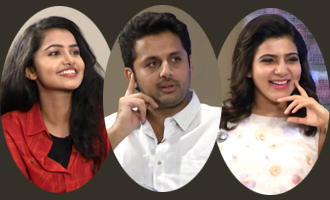 Nithin, Samantha And Anupama Interview