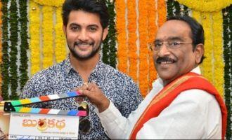 Aadi Saikumar's 'Burra Katha' launched