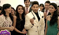 Allu Arjun`s LOT Mobile Ad