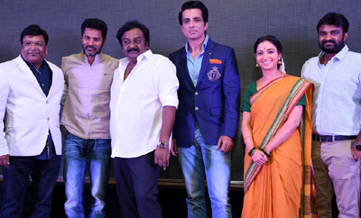 'Abhinetri' First Look Launch