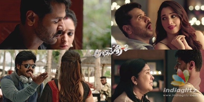 Abhinetri-2 Trailer: Two ghosts, one body & a contract