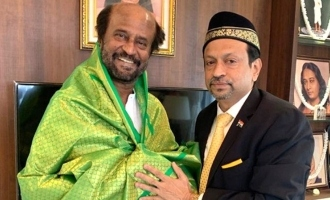 Hajj Association's Abu Backer meets Rajinikanth