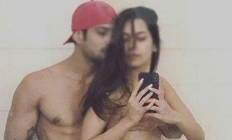 Actor posts topless pic of wife!