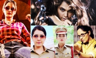 Heroines who nailed as cops on screen