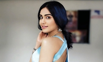 Adah Sharma's 'newspaper' dress is unusual