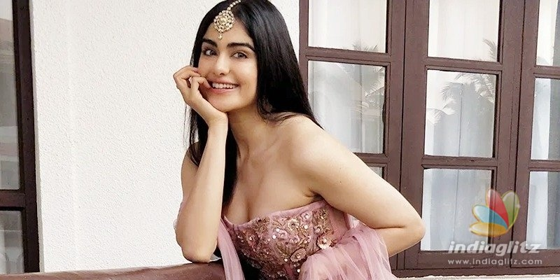 Adah Sharma is excited about her upcoming crazy Telugu film