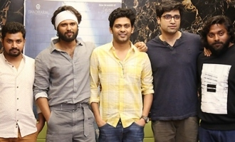'Agent Sai Srinivas Athreya' Press Meet