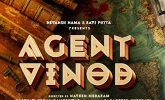 Pre-Look Abhishek Pictures' 'Agent Vinod' unveiled