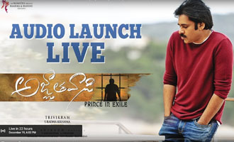 Agnyaathavaasi Movie Audio Launch LIVE